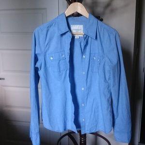 America Eagle Outfitters - Blue Denim Shirt